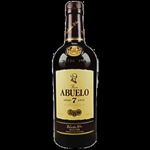 """Abuelo """"Añejo 7 años"""" rum 40% vol. Image"""