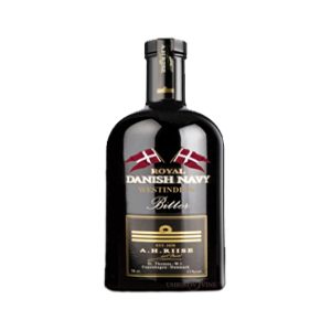 "A H.. Riise ""Royal Danish Navy Bitter"" rum 32% vol. Image"