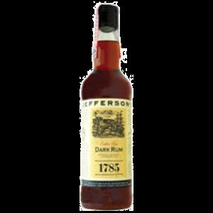 Jefferson's 1785 Extra Fine Dark Rum Image